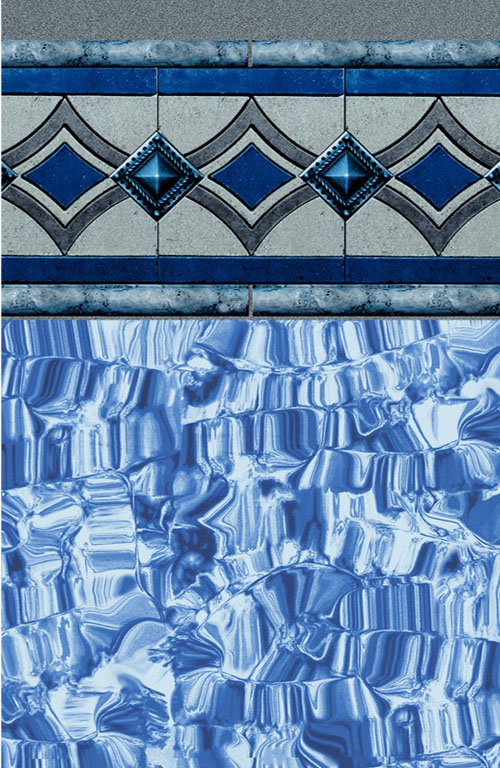 Vintage Tile - Blue Ice