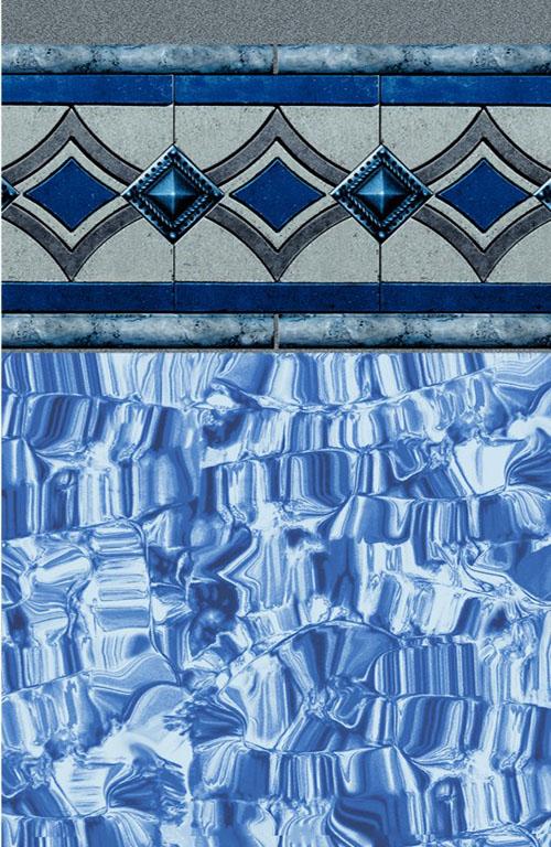 Vintage Tile - Blue Ice